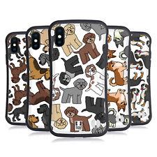 Head Case Designs Dog Breed Patterns 17 Hybrid Case For Apple iPhones Phones
