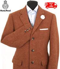 Harris Tweed Jacket Blazer Size 40R Country Weave Hacking Hunting Terracotta