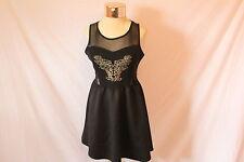 Women's Black Short Dress by Stella Tweed - Size L/G