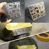 1/35 MilitaryModel AFV Digital Camo Stenciling Templates Medium Pattern AJ0014