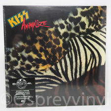 Kiss Animalize Brand new and factory sealed 180 gram LP