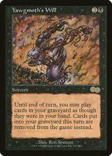 Yawgmoth's Will Urza's Saga MINT Black Rare Reserved List MAGIC CARD ABUGames
