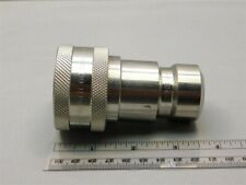 Parker SSH6-62Y 60 Series 316 SS 3/4-14 NPTF Hydraulic Quick Coupling Fitting
