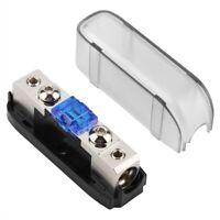 Car Stereo Fuse Holder, Auto Agu Audio Fuse Box Power Distribution Block 4G S5A2