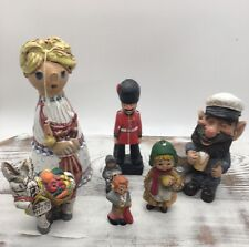 Collection of Designer Vintage Figurines Collectables Humans Animals