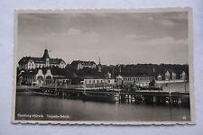 "112. Ak, Flensburg/Mürwik, ""Torpedo -Schule"", gelaufen  1934."