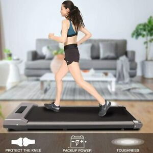 UK Electric Treadmill Running/Walking Pad Machine Fitness Home Cardio Exercise