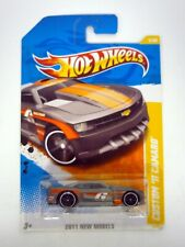 HOT WHEELS CUSTOM '11 CAMARO #5 New Models 5/50 Die-Cast Car MOC COMPLETE 2010