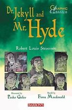 Dr. Jekyll and Mr. Hyde (Barron's Graphic Classics)-ExLibrary