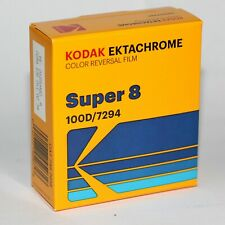 SUPER 8 FILM - KODAK EKTACHROME 100D 7294 COLOR POSITIVE FILM