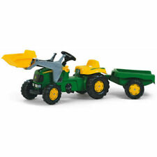 Rolly Toys 023110 John Deere - Tractor with Loader and Trailer