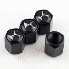 Black Car Wheel Tire Tyre Valve Stem Cap Screw Cover For Citroen DS3 DS4 Parts