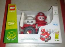 Dh375 Rare Retired 2003 Lego Explore FireMan Car 3697 5 Pcs Set Factory Sealed