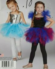 2015 Simplicity Sewing Pattern #S0334 Girls Ballerina Halloween Costume 3-6 6198