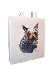 Yorkshire Terrier (C) coton sac courses avec gousset extra space cadeau idéal