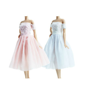 2x Handmade Fashion Daily Dress Blouses Pants Clothes For 12 IN. Doll Gift