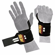 WRIST SUPPORT STRAPS GYM WARPS WEIGHT LIFTING TRAINING GYM EXERCISE STRAPS WRAPS