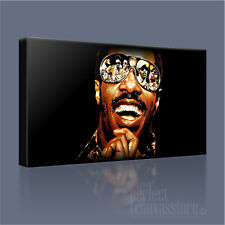STEVIE WONDER AWESOME LEGENDARY ICONIC CANVAS POP ART PRINT PICTURE Art Williams