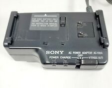 Sony AC-V25A AC Power Adapter/Battery Charger for Camcorder Handycam CCD-TR21