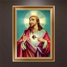 DIY 5d Diamond Painting Religious Figures Embroidery Cross Stitch Kit Home Decor 05# (30*40 Cm)