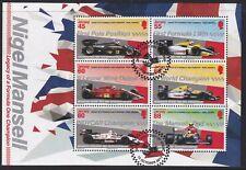 Jersey 2013. Legacy of a Formula One Champion - Nigel Mansell  MS1795 F/U