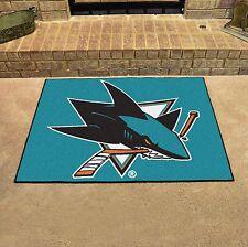 "San Jose Sharks 34"" x 43"" All Star Area Rug Floor Mat"