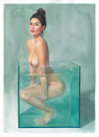 FineArt Print | Sensual Art | Pin Up | Nu Dessin | Act 998 by C. Zittermann®