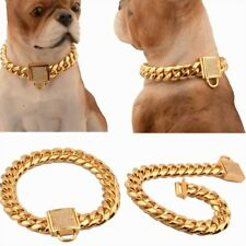 Dogs Training Chain Collars for Large Dogs Pitbull Bulldog Strong Dog Collar