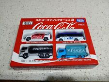 Tomy Tomica Japan: Coca Cola Set VERY RARE (Limited Edition)