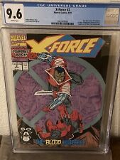 X-Force #2 CGC 9.6 Second Appearance of Deadpool First Appearance Of Weapon X