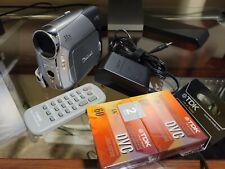 Canon Zr850 Mini Dv Stereo Camcorder with
