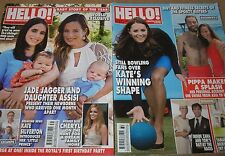 HELLO MAGAZINES for year 2014 -CHOOSE ANY 3 FROM A LARGE SELECTION - royal/celeb
