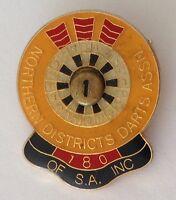 Northern District Darts Association South Australia Pin Badge Rare Vintage (E6)