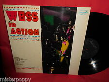 WESS In Action LP 1975 ITALY EX+ Funk monster