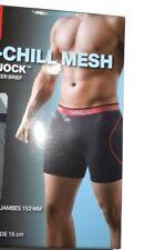 Under Armour men's ISO Chill Grey Boxer Jock Boxer Brief underwear size 3XL