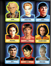 Star Trek Aliens Stickers cards YOU PICK ONE.