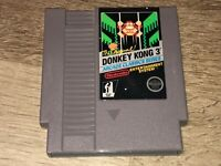 Donkey Kong 3 Nintendo Nes Cleaned & Tested Authentic