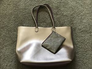 Bath And Body Works Tote Bag rose gold New