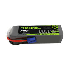 Ovonic 6500mAh Lipo Battery 6S 100C 22.2V EC5 Plug For 1/7 1/8 1/10 Arrma RC Car