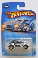 Hot Wheels Kar Keeper Exclusive Blue Card #184 VW Bug Black 5SPs +3 1.64 M-NMINT