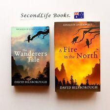ANNALS OF LINDORMYN 1 & 2 ~ D. Bilsborough  Wanderer's Tale, A Fire In The. H