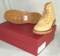 Wolverine 1000 Mile Men's  Boots  suede  Size 10 D  NEW   TAN
