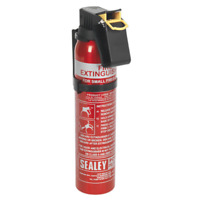 SDPE006D Sealey 0.6kg Dry Powder Fire Extinguisher - Disposable