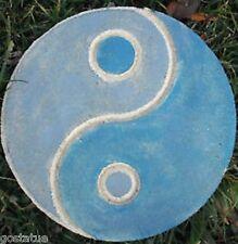 Concrete plaster mold Yin-Yang Garden Plaque Plastic Mould