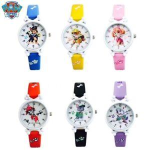 Kinderuhr Paw Patrol Helfer auf vier Pfoten Kinder Armbanduhr Geschenk