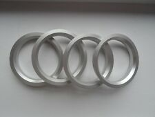 A set of 4pcs Aluminum HUB CENTRIC HUBCENTRIC RING RINGS OD 70.4mm to ID 56.1mm