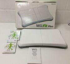 Wii Fit Plus Balance Board With Game Boxed