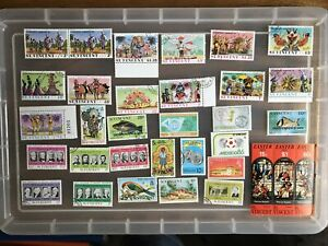 St Vincent stamps unchecked collection MINT/USED (aa482)