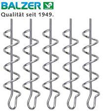 Balzer Shirasu Cork Screw - 5 Spiralen für Stingerhaken, Spirale für Gummifische