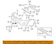 TOYOTA OEM 09-11 RAV4 Front Bumper-Tow Hook Eye Cover Cap Left 5328642929